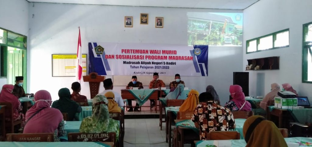 MAN 5 Kediri adakan Pertemuan Wali Murid & Sosialisasikan Program Madrasah